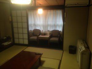 軽井沢合宿で宿泊した部屋